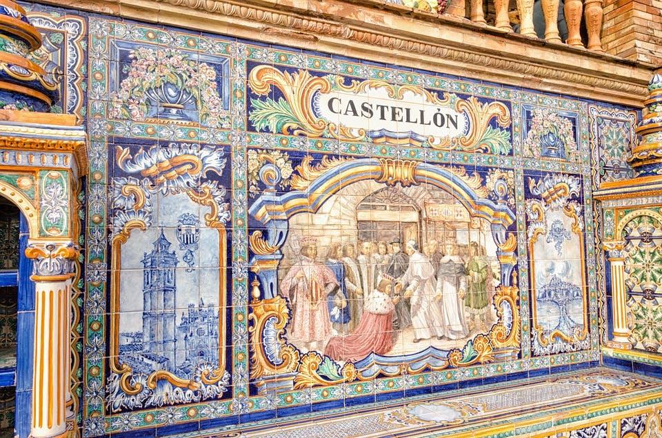 Ceramic tiles are Castellon's leading industry