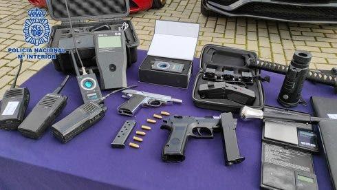 Police bust drug gang madrid