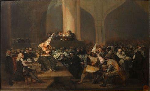 Francisco De Goya Escena De Inquisicion Google Art Project