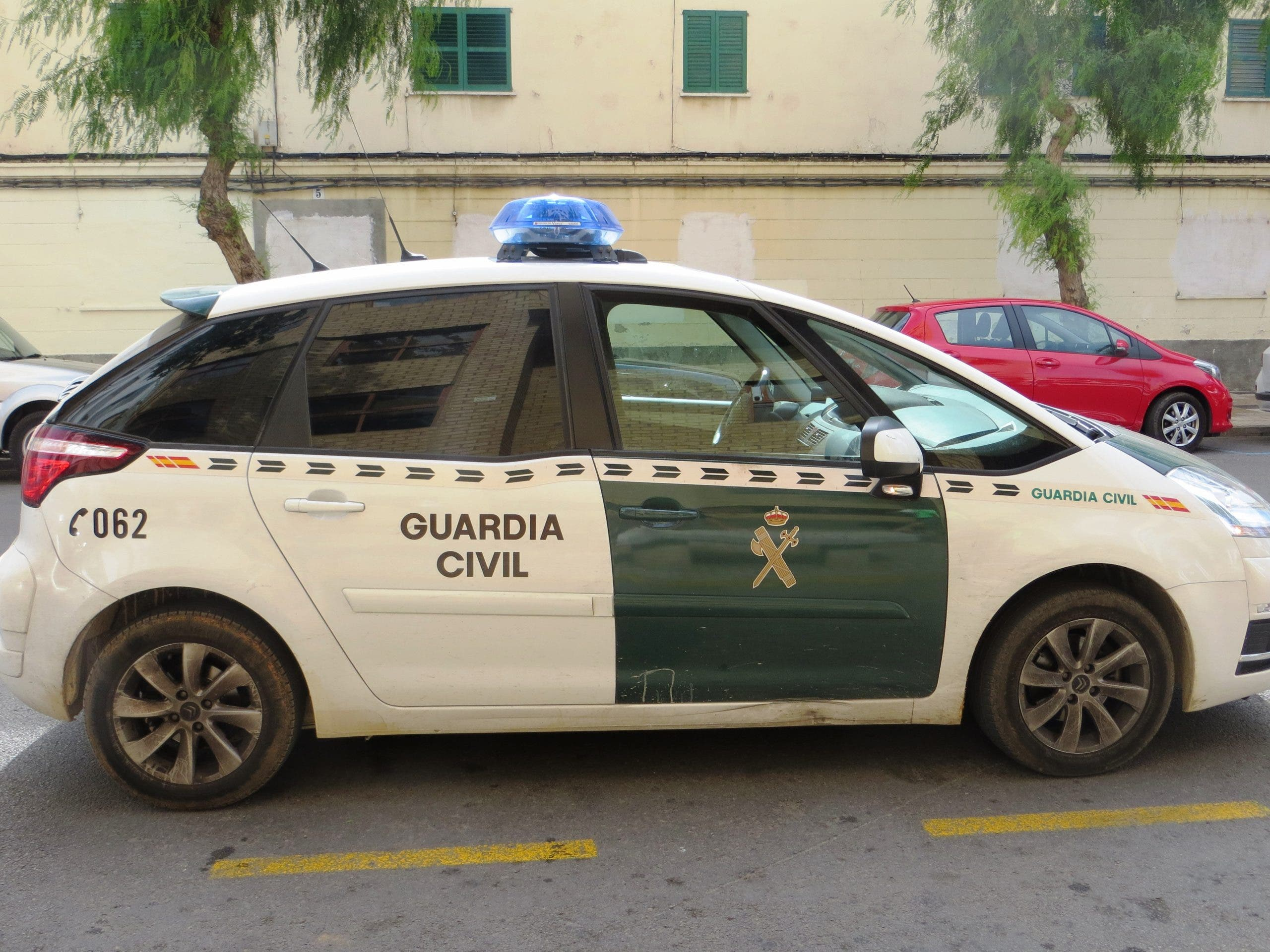 Guardia Civil car