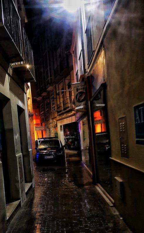 Kidnap Scene Malaga Polic