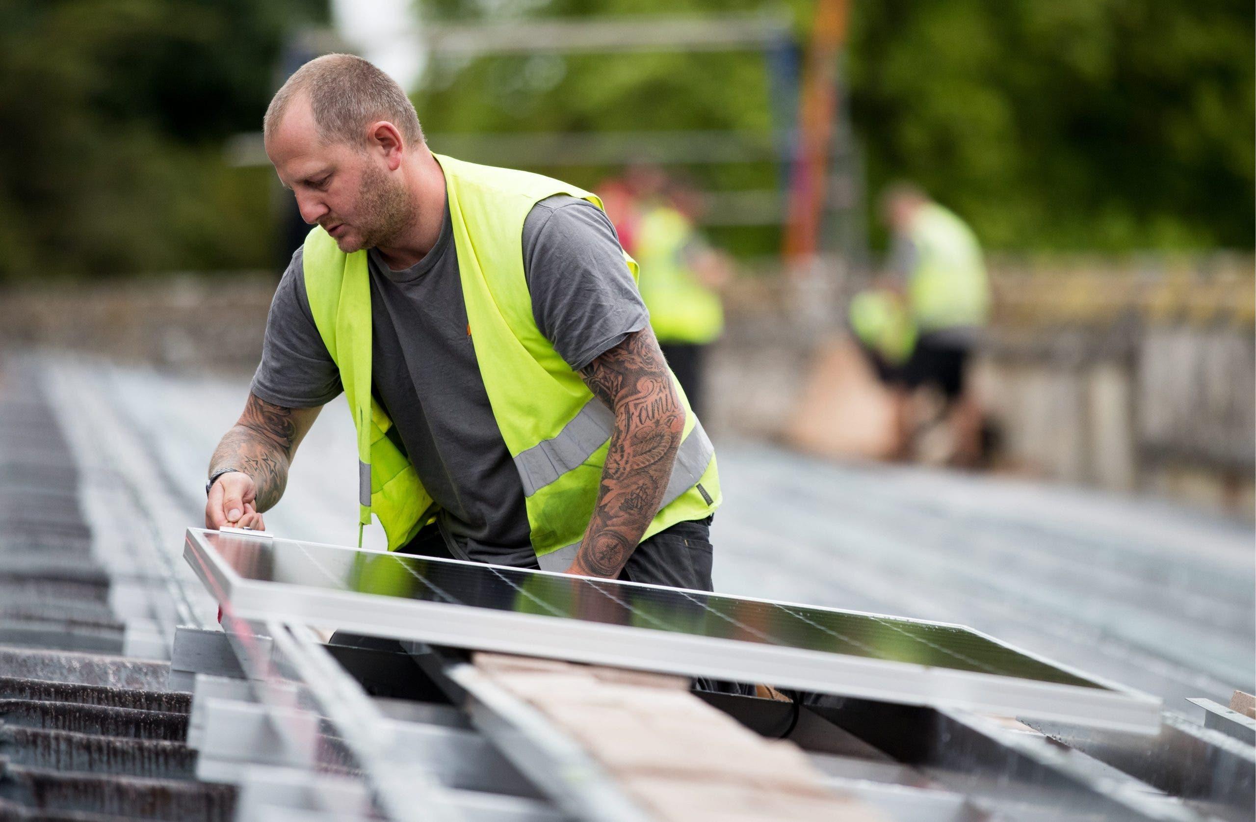 Solar panels Vinaros