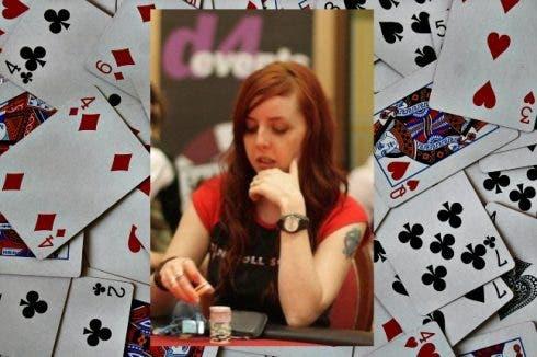 Kate Langshaw poker player webmaster