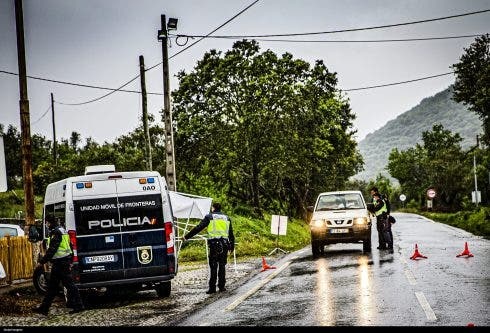 Covid 19: Controlled Border In Vila Verde De Ficalho