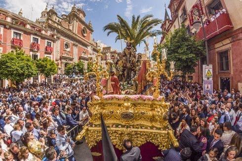 Procesion La Borriquita En Sevilla
