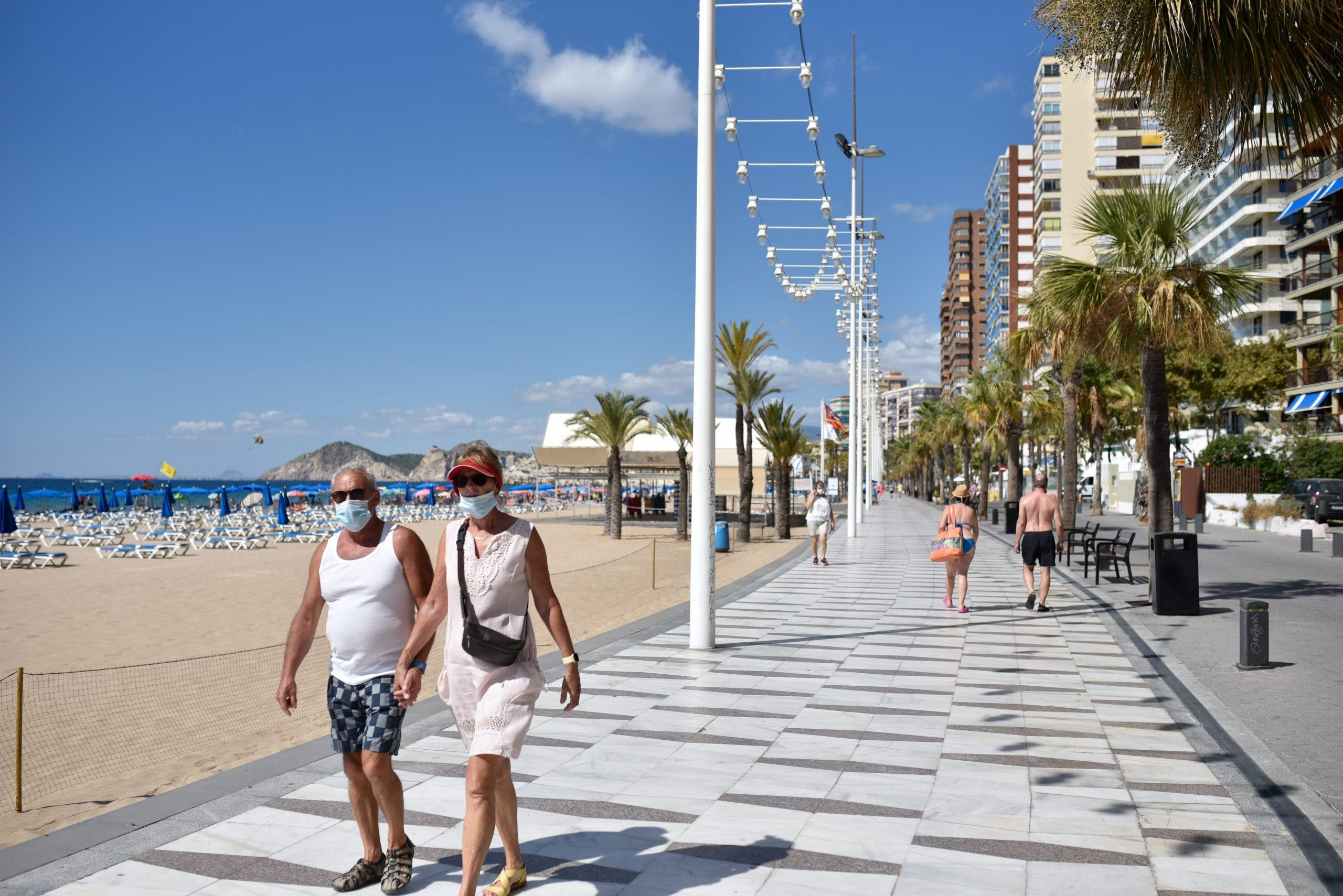 Daily Life Amid Coronavirus (covid 19) Crisis In Benidorm, Spain 09 Sep 2020