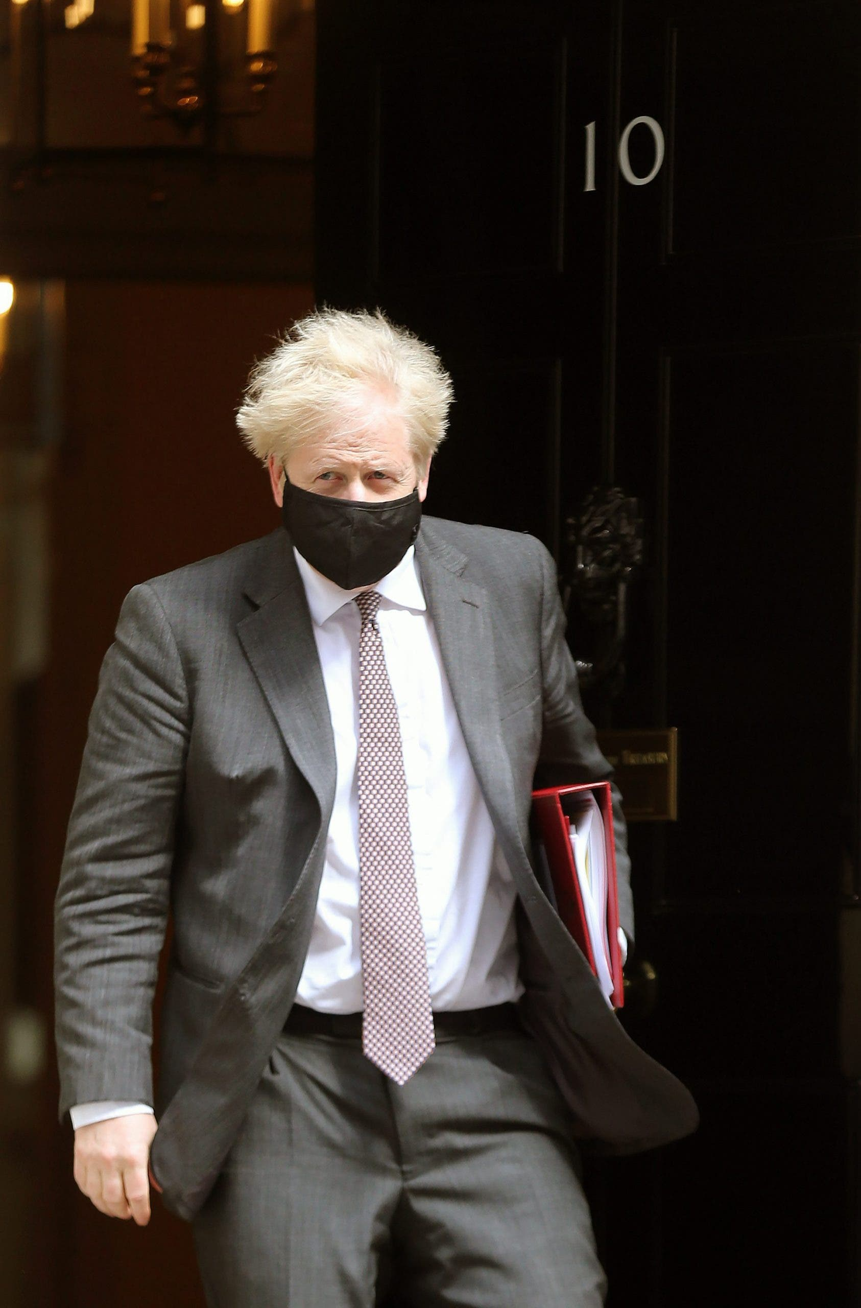Boris Johnson Leaves Downing Street