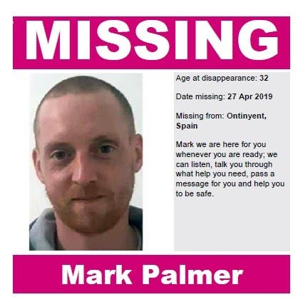 Missing British Man Mark Palmer