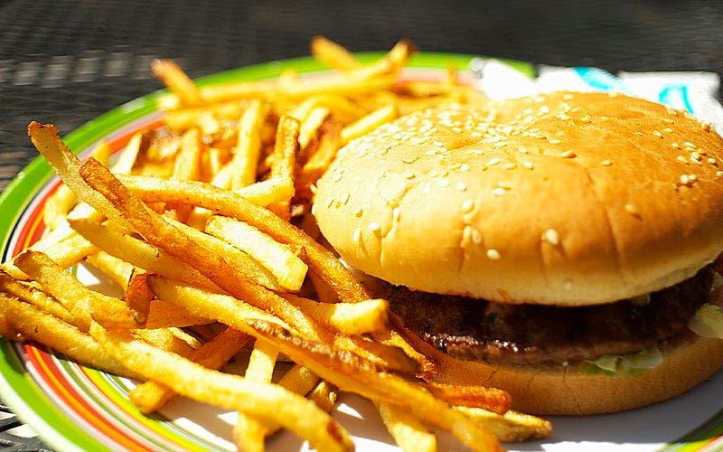 Trans Fats Burger