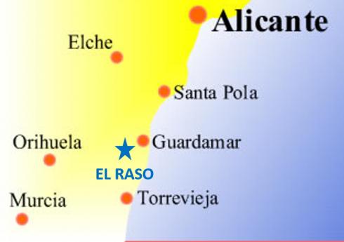 El Raso Location