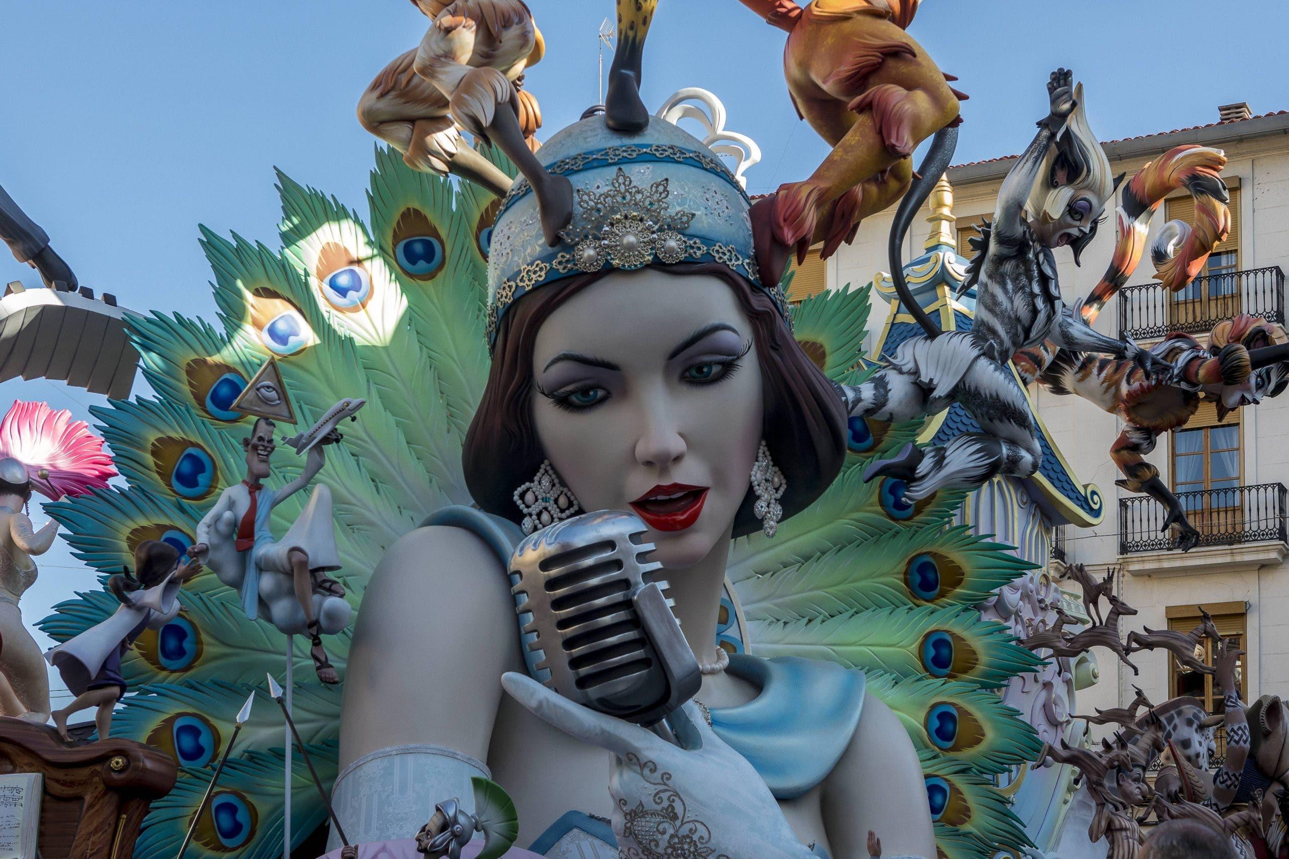 Fallas Festival In Valencia, Spain 18 Mar 2019