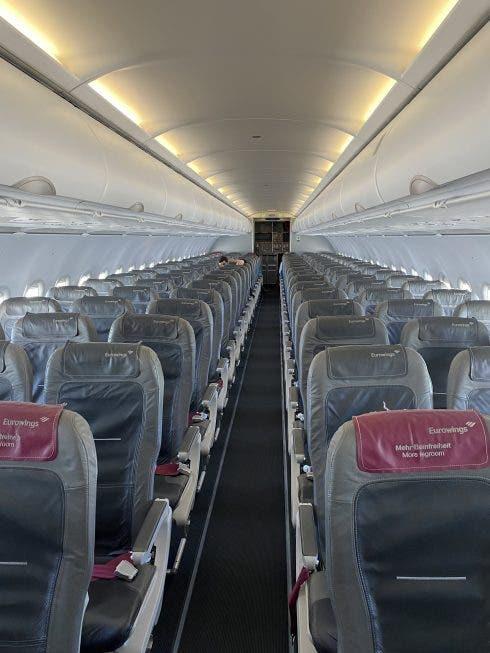 Flight To Palma Via Dusseldorf