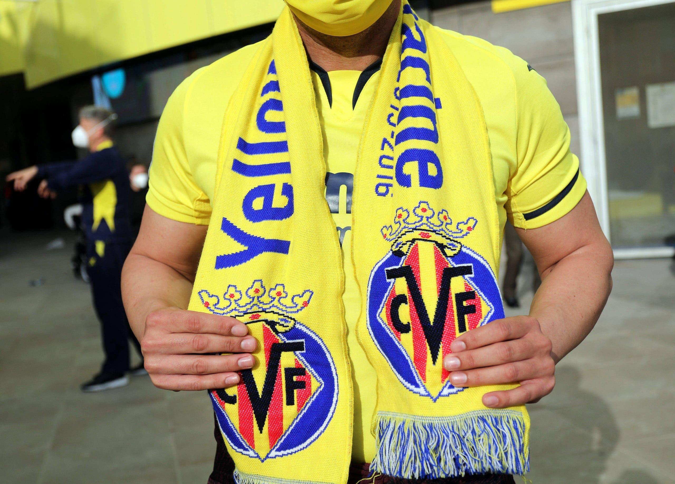 Villareal V Arsenal Uefa Europa League Semi Final First Leg Estadio De La Ceramica