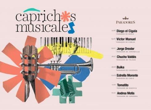 Cartel Caprichos Musicales En Paradores Horizontal 1 768x556 1