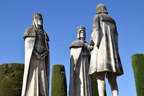 Columbus And Two Catholic Monarchs