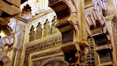 Mezquita Mihrab Detalle Cordoba T1400760