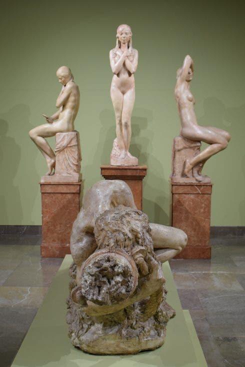 Statues In Bellas Artes Museo