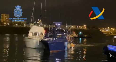 Yacht Seized