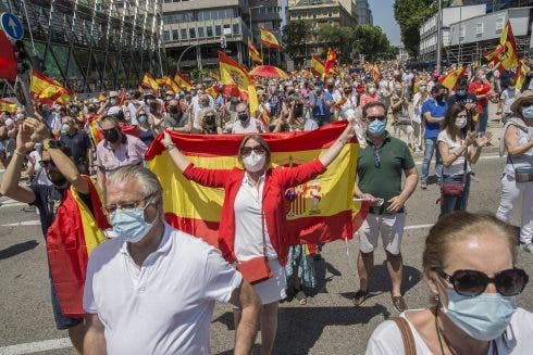 Thousands Of People Gather In Colón Against The Pardons Of The Independence Leaders