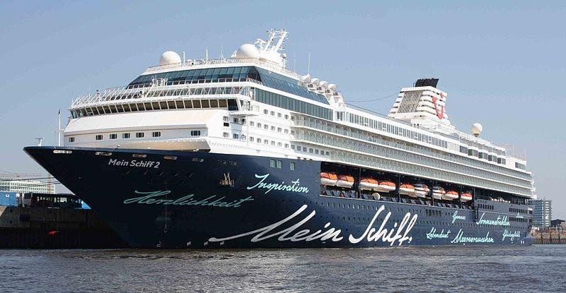 Cruise Ship Valencia