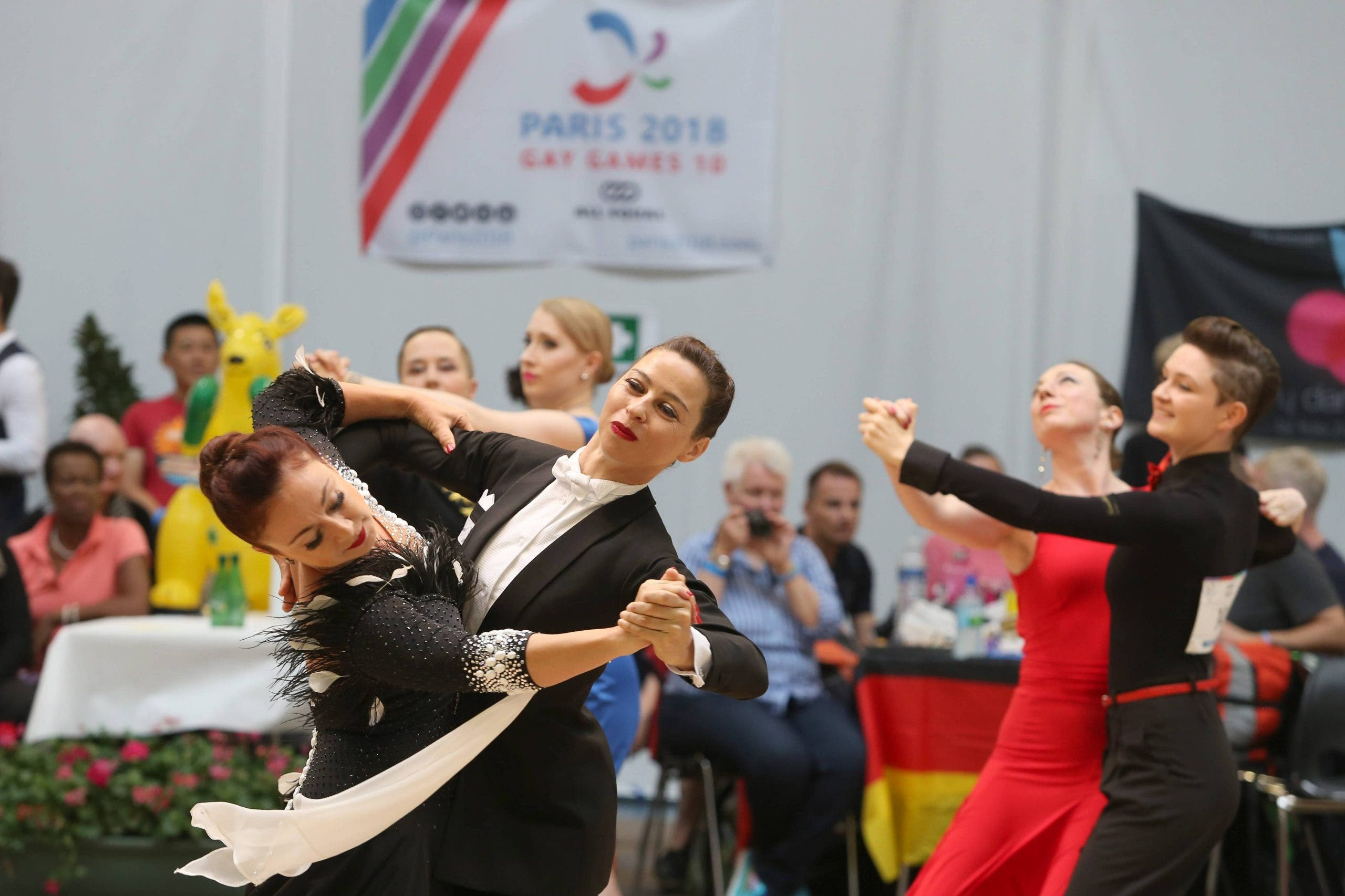 Epreuves De Danse Sportive Gay Games 2018 Paris 09 08 2018 Michaelbaucher Panoramic Publicati