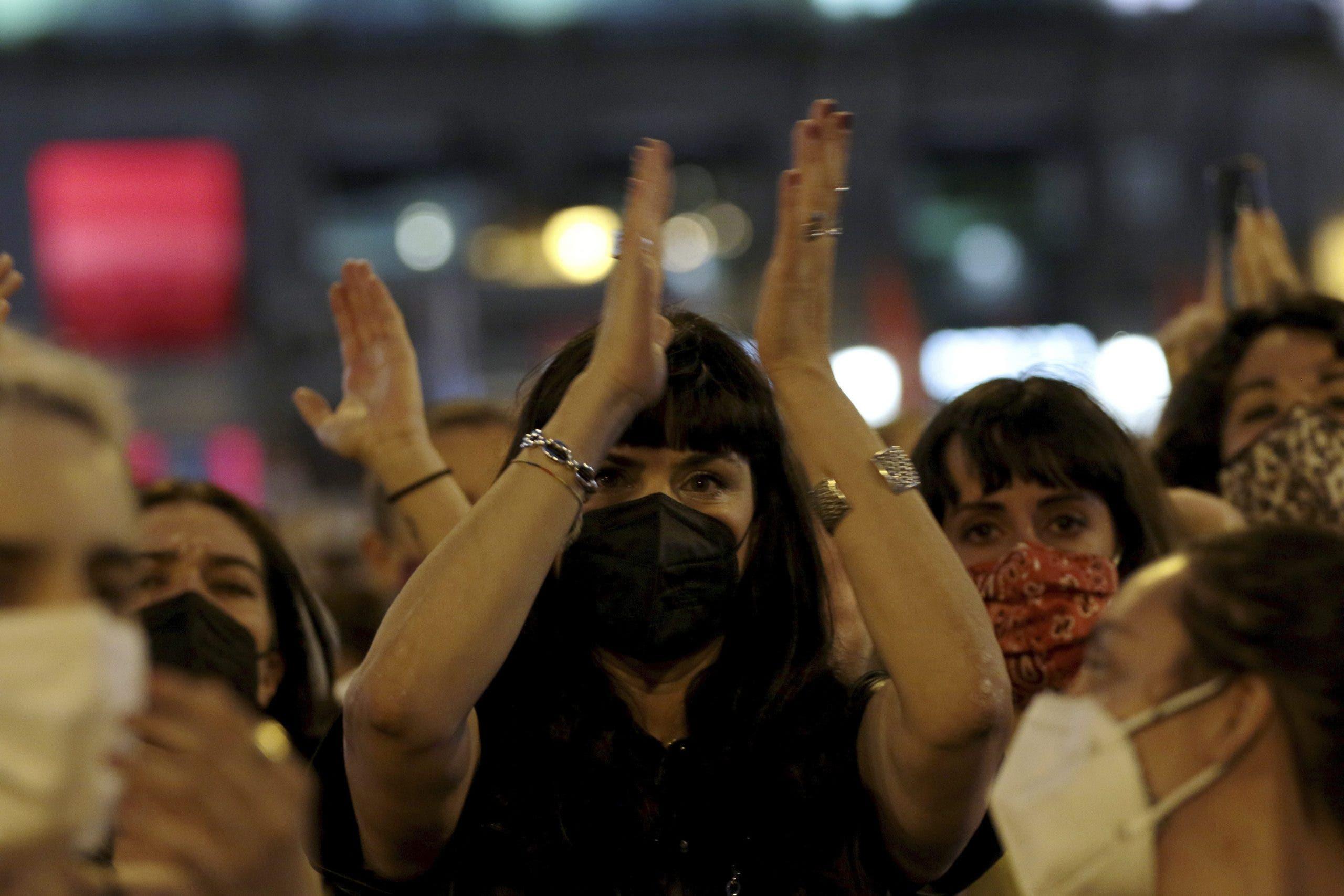 Feminist march against gender violence