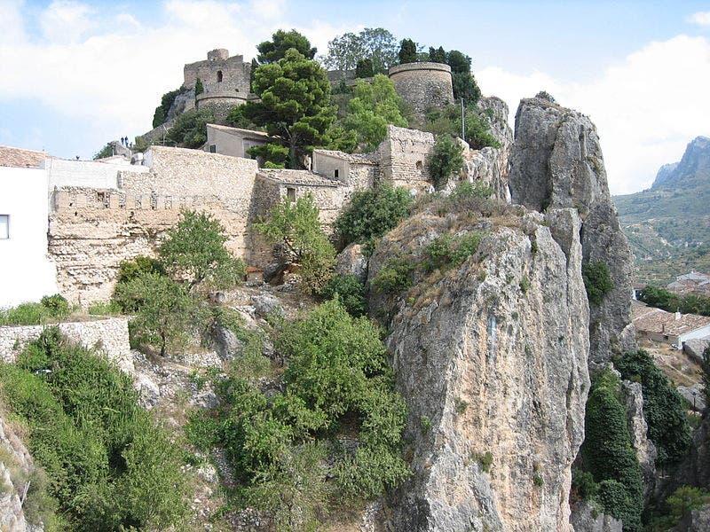Guadalest Castillo Del Rey