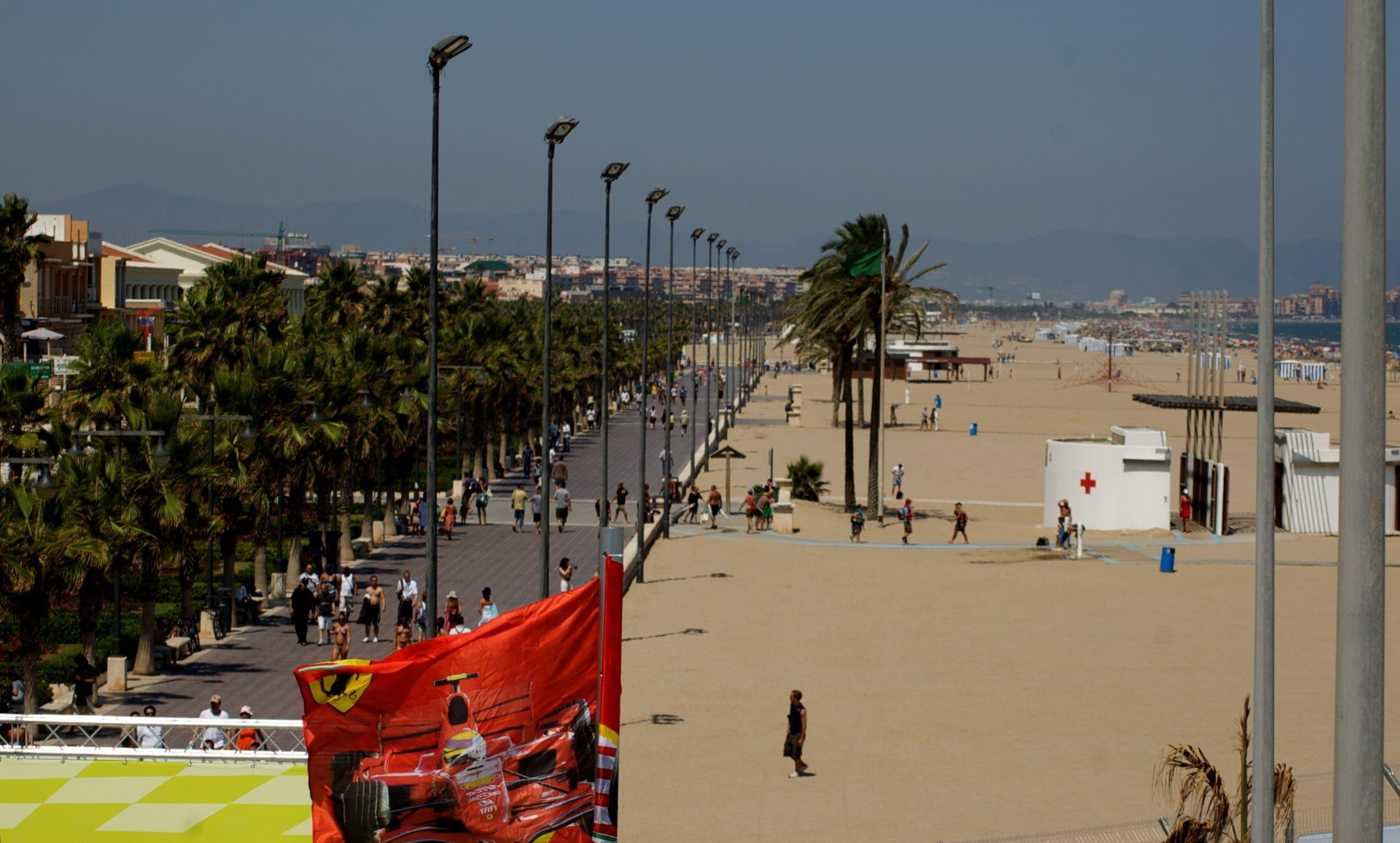 Malvarrosa Beach Valencia