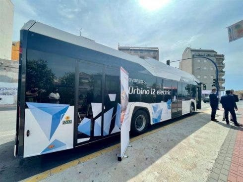 Torrevieja Presents New Electric Bus Credit Town Hall
