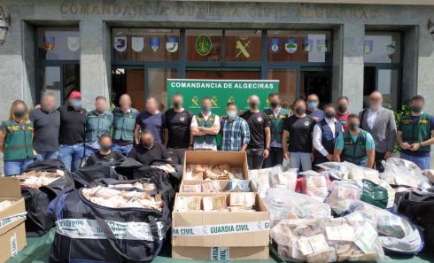 Algerciras Drugs Bust