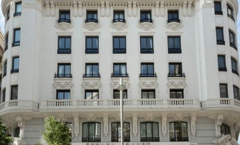 Grand Via Madrid Hotel5
