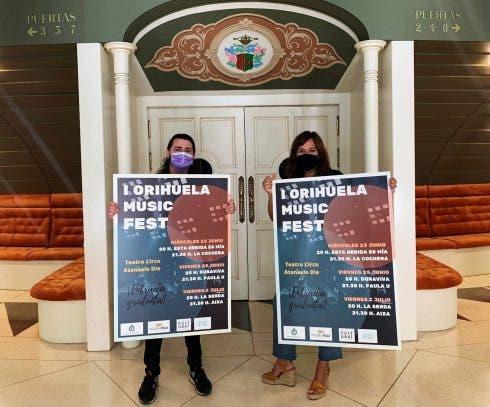 Presentacion Orihuela Music Fest