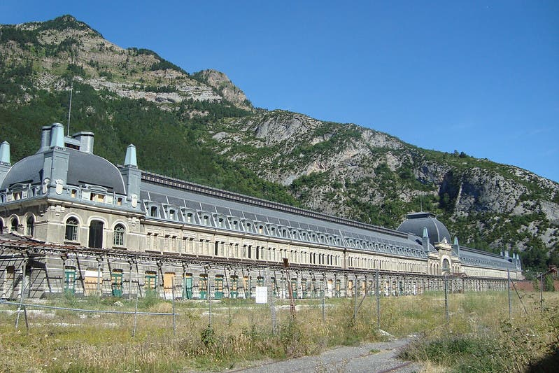 Titanic of the Mountains: Historic train station in Spain's Pyrenees to be transformed into luxury hotel
