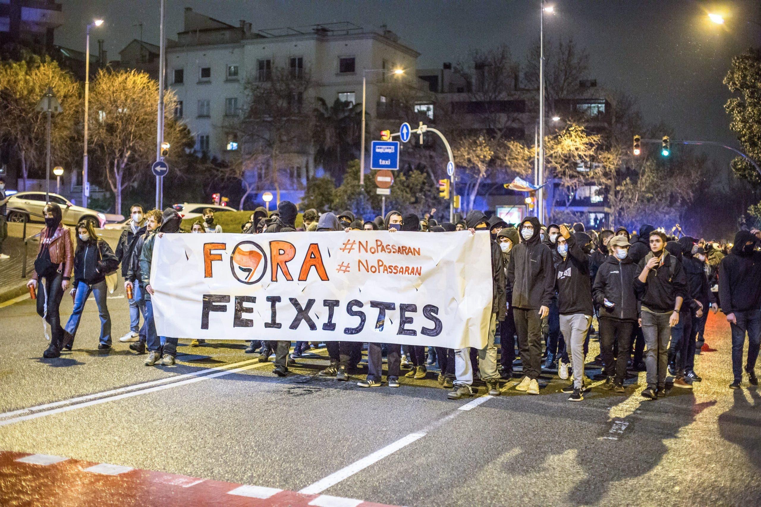 Anti-fascist march (Photo by Cordon Press)