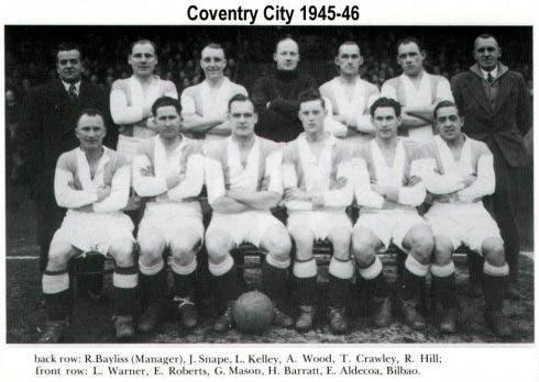 Coventry City 1945 46 Aldecoa Ybilbao Copy