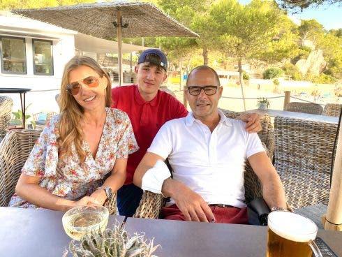 Terenia, Son Anton And Partner Paul