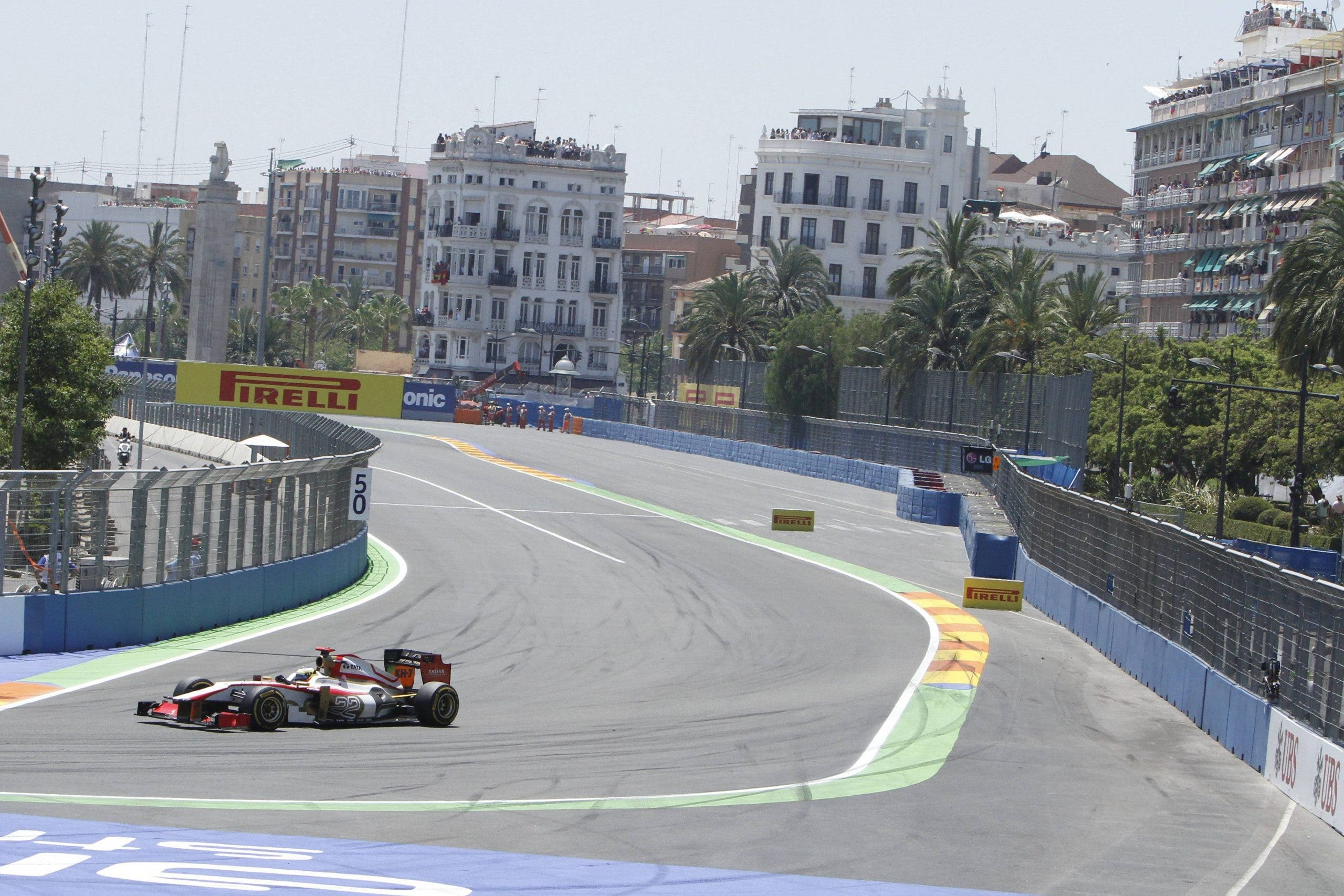 European Grand Prix Formula 1 Urban Street Circuit, Valencia