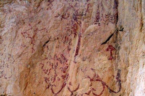 Cueva De Los Letreros Junta De Andalucia