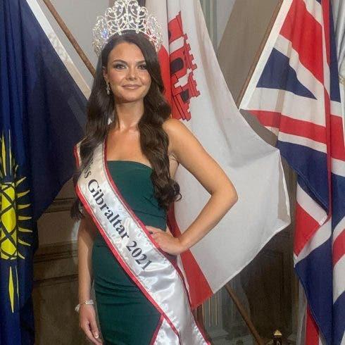 Miss Gibraltar 2021 Janice Samphere