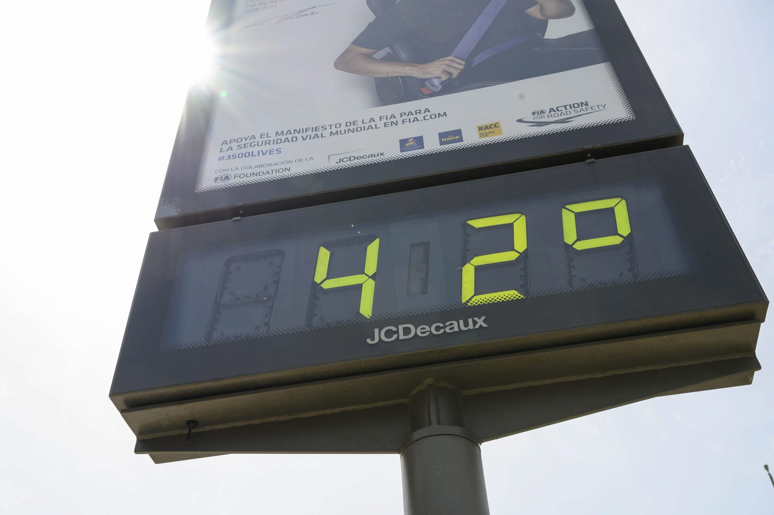 Spain: Heat Wave Hits 46ºc