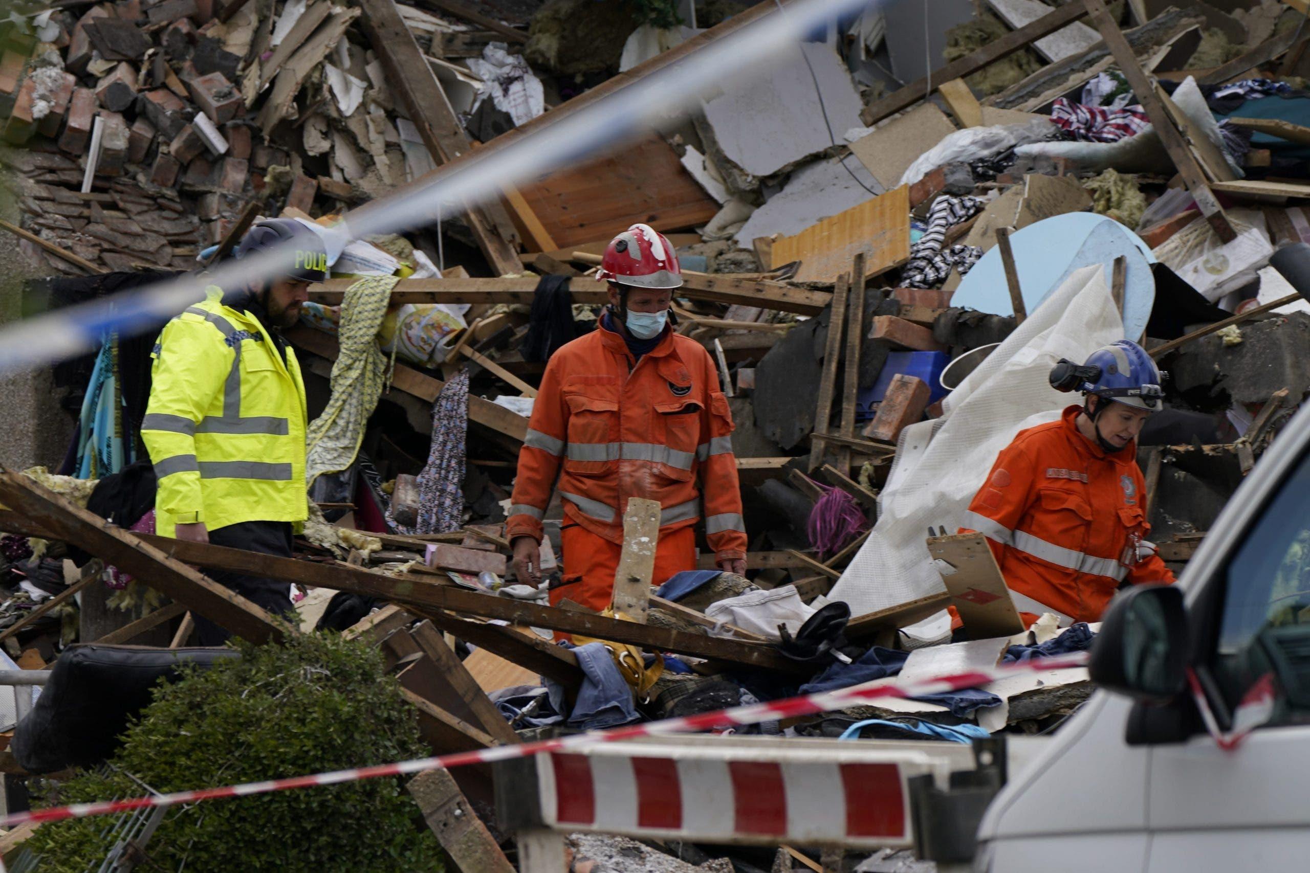 House collapse Peñiscola