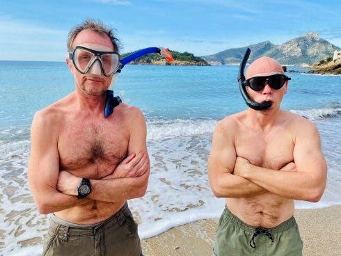 Mallorca 360 (left Tim Galgey, Right Pete Langan)