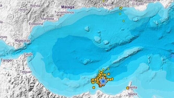 Map Of Earthquakes In The Last Few Hours Ign