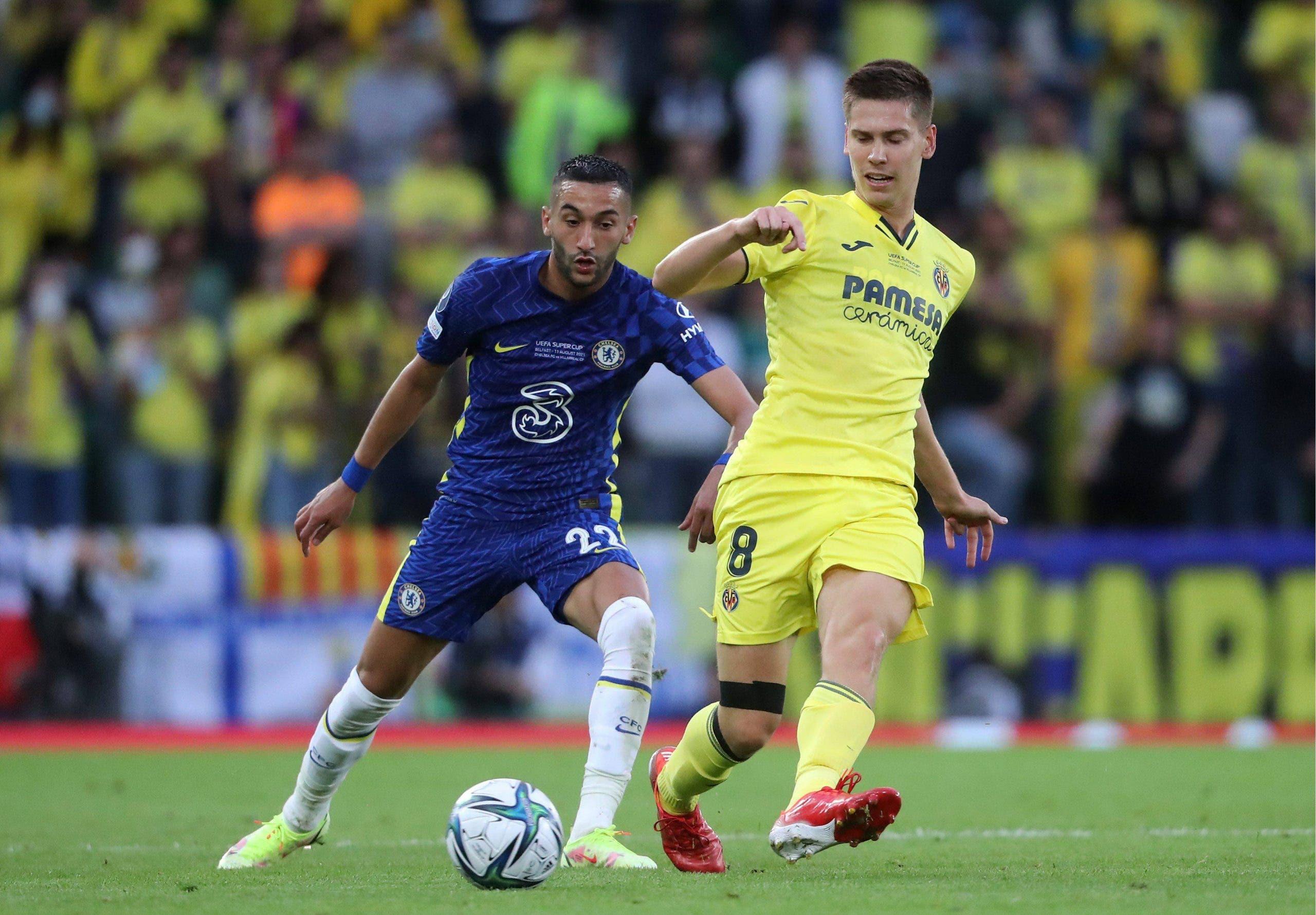 Chelsea V Villarreal Uefa Super Cup Windsor Park