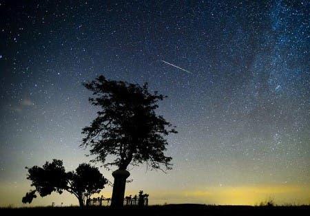 night sky Photo asociación Astronómica de España