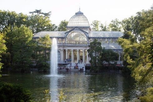 Paseo Del Prado And Buen Retiro Nominated For The Unesco World Heritage Site In Madrid, Spain 23 Jul 2021