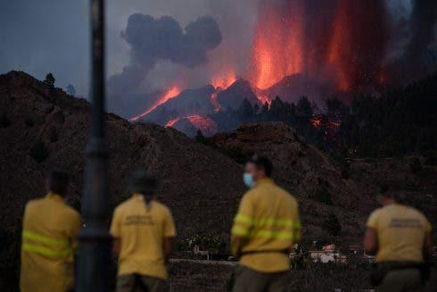 Volcanic Eruption On Canary Island La Palma