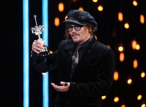 Johnny Depp 69th San Sebastian Film Festival