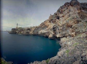Cliffs in Portocolom on Mallorca