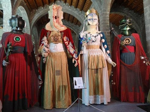 Gegants Exhibition Of Giants At The Museu Maritim Barcelona Wikicommons 1